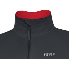 GORE WEAR C5 Gore-Tex Active Jacket Herren black/red